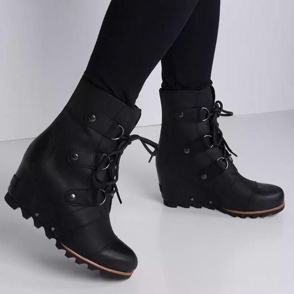 f1364026cff Sorel Joan Of Arctic Wedge Snow Boots 7 Waterproof.  M 5bf6fbb1c2e9feb20d689cb7